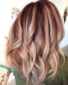 Balayage Ombre Hair Color Ideas for 2017
