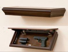 Hidden Gun Storage, Secret Storage, Weapon Storage, Hidden Shelf, Hidden Doors, Hidden Gun Safe, Furniture Plans, Diy Furniture, Outdoor Furniture
