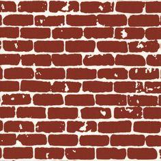Grafic Blank Canvas Brick - Hoffman Fabrics