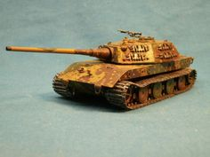 Image E-100 ausf B 1/72 scale resin model (complete kit). from Cpl Overby's Motor Pool from facebook.