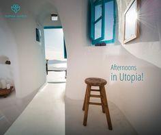 Afternoons in Utopia Exclusive Suite! #sophiasuites #santorini #imerovigli #caldera