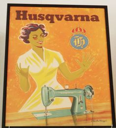 Isilias Blogg: Husqvarna Symaskiner gjennom tidene