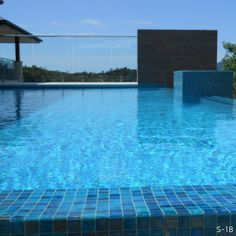 Swimming Pool Tiled With Bisazza Mosaics Swimming Pools Pinterest Swimming Pool Tiles