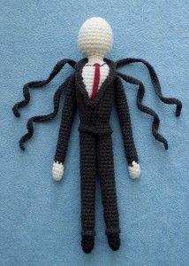 Free Crochet Pattern for Slender Man!