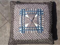 de Haakster: Stonewashed granny diamonds Maxi Loom