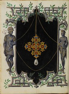 Jewel Book of the Duchess Anna of Bavaria — Viewer — World Digital Library Medieval Manuscript, Illuminated Manuscript, Renaissance Jewelry, Science And Nature, Bavaria, Ancient Art, Art Images, Jewelry Art, Book Art
