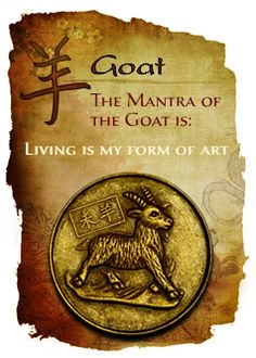 CHINESE YEAR OF THE GOAT