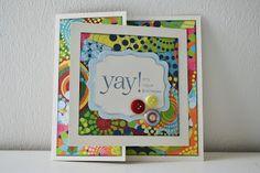 Happymade: DIY - Kort med sjov åbning/låge og indvendig lomme