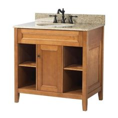 Foremost Exhibit 30 in. W x 21.63 in. D x 34 in. H Vanity Cabinet Only in Rich Cinnamon-TRIA3022 - The Home Depot