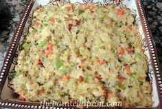 chicken and wild rice casserole thepaintedapron.com