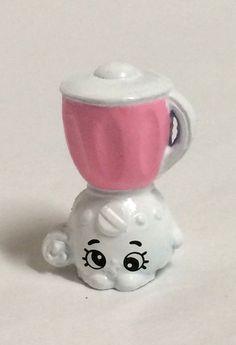 Shopkins Season 2 Pink White Brenda Blender Rare 018 HTF ~Loose #MooseToys