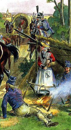 Les cavaliers de la Grande Armée :: Des tenues