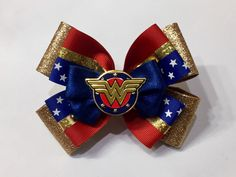 A personal favorite from my Etsy shop https://www.etsy.com/listing/540077226/wonder-women-hair-bow