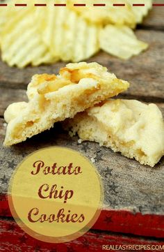 Potato chip cookies recipes easy