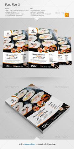 Food Flyer 3 #GraphicRiver