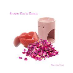 """Fondants bio parfumés """" Rose de Dammas """" : Luminaires par mon-rituel-beaute"""