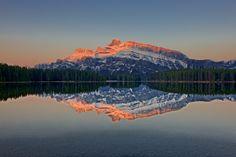Reflections At Two Jacks Lakes