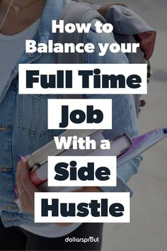 Starting a side hustle can be a great way to bring in extra income, especially if you need money to grow your emergency fund or pay down debt. With so many ways to make money online or in-person, it's possible to work a side gig around your regular 9-to-5 job. |Side Hustle| Make Money| Money| Side gig| Full Time Job| Save Money| Manage Money