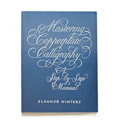 Used this book to learn my first steps in copperplate. Great instruction for beginners!
