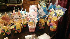 Yokai-watch party  center pieces