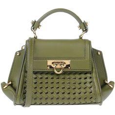 Salvatore Ferragamo Handbag (€935) ❤ liked on Polyvore featuring bags,  handbags, c26904df4d
