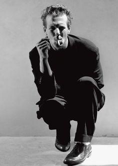 Mickey Rourke by Greg Gorman