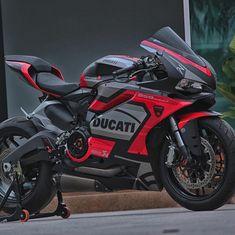 The Ducati 959 Panigale Moto Ducati, Ducati Motorbike, Motorcycle Bike, Triumph Motorcycles, Custom Motorcycles, Custom Baggers, Motorcycle Quotes, Cars And Motorcycles, Yamaha