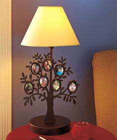 Family Tree Table Lamp Keep Famoily Photos In the Light of Home [SM163684-4FML] - $24.95 : Smart Saver LLC