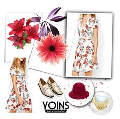 """YOINS 22"" by ajdin-lejla ❤ liked on Polyvore featuring vintage, women's clothing, women's fashion, women, female, woman, misses, juniors, polyvoreeditorial and yoins"