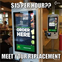 Maybe now the order will be correct   If people try to be good at what ever job they have  they won't stay at minimum wage.