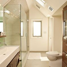1000 images about hypothetical expanded dormer on for Shed bathroom designs