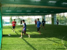 FieldTurf artificial grass installed at the indoor futsal facility at The Arena, Mumbai.  For more info, do visit www.greatsportsinfra.com