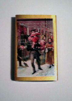 A Christmas Carol - Book Cover Literary Matchbook