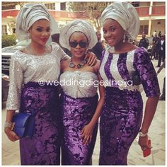 Stylish & Trendy: Alluring & Gorgeous WDN Aso-Ebi Styles | Wedding Digest Naija
