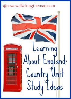 Learn about England with books, websites, and activity ideas.
