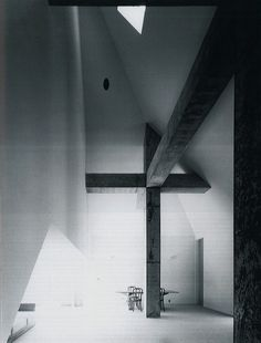"Kazuo Shinohara (April 1925 – July was a highly influential Japanese architect who formed what is now widely known as the ""Shinohara School"", which has been linked to the works of Toyo. Modern Japanese Architecture, Space Architecture, Japanese Buildings, Concrete Architecture, Pavilion Architecture, Religious Architecture, Sustainable Architecture, Residential Architecture, Shizuoka"