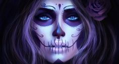 glam and gore makeup ideas - Google Search