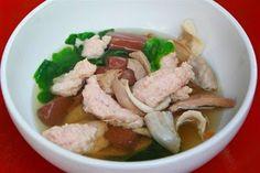 เมนูอาหารไทยตามสั่ง พร้อมวิธีทำ: ต้มจืดเลือดหมู