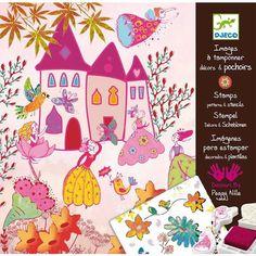 Princesses Stamps & Stencils Kit