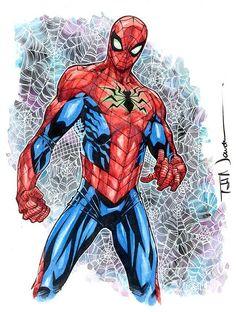 #Spiderman #Fan #Art. (Spider-Man) By: Todd Nauck. (THE * 5 * STÅR * ÅWARD * OF * MAJOR ÅWESOMENESS!!!™)[THANK U 4 PINNING!!!<·><]<©>ÅÅÅ+(OB4E)                  https://s-media-cache-ak0.pinimg.com/564x/78/8c/2c/788c2c6895016fc7107ccd224e6e72a0.jpg