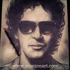 Resultado de imagen para cerati  dibujo Wayfarer, Mens Sunglasses, Music, Style, Sentences, Gustavo Cerati, Rock Bands, Icons, Boats