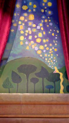Rapunzels painting