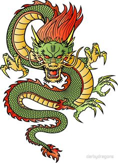 Illustration about Traditional Asian Dragon. This is vector illustration ideal for a mascot and tattoo or T-shirt graphic. Illustration of dragon, black, ethnicity - 33671675 Chinese Dragon Drawing, Chinese Art, Chinese Design, Korean Dragon, Design Dragon, Dragon Illustration, Kunst Tattoos, Tattoo Drawings, Japanese Dragon Tattoos