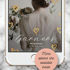 Custom Snapchat Filter, Wedding Snapchat Filter, Snapchat Geofilter Wedding, Wedding Snap chat Filter, Snapchat Filter Valentine, Gold heart