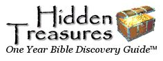 Hidden Treasures Bible Discovery Guide: A comprehensive list of the Parables of Jesus with scripture reference