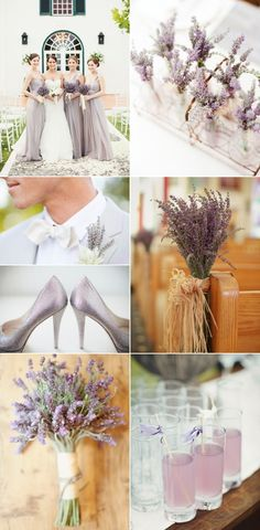 Lavender Wedding on Blog: Little White Book...beautiful!