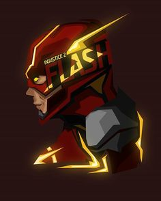 And the #injustice2 remix on your boy Flash #popheadshots he looks so much like @grantgust in the trailer