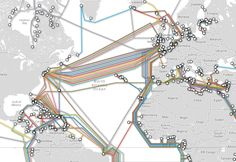 How Internet Works, Internet Map, Fiber Internet, Data Science, Science Nature, Submarine Cable, Complex Systems, Fiber Optic Cable, World Geography
