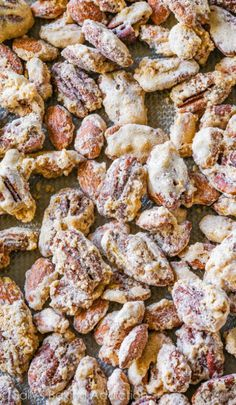 Once you pop. you can't stop. These homemade cinnamon sugar candied nuts are addictive. crowd-pleasing. and dangerously simple!