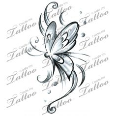 Marketplace Tattoo Butterfly sw #15098 | CreateMyTattoo.com